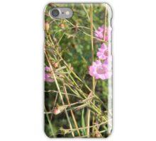 Purple Gerardia, Endangered iPhone Case/Skin