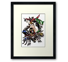 Voltron Sword Framed Print