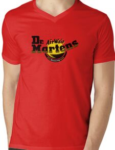 Bouncing Soles Mens V-Neck T-Shirt