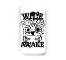 Wide Awake Owl Samsung Galaxy Case/Skin