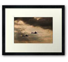 Thumper & Vera  Framed Print