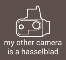 My other camera is a Hasselblad [for dark colours] by Michael Reid