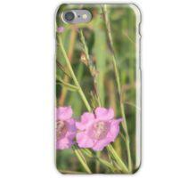 Purple Gerardia, Detail iPhone Case/Skin
