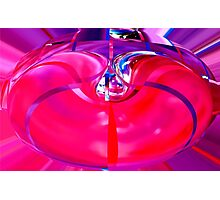 inflated purple  Photographic Print