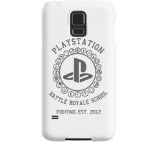 Playstation Battle Royale School (Grey) Samsung Galaxy Case/Skin
