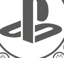 Playstation Battle Royale School (Grey) Sticker