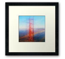Average Golden Gate Bridge Framed Print