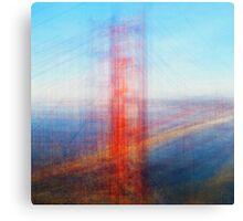 Average Golden Gate Bridge Canvas Print
