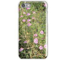 Purple Gerardia Survives Drought iPhone Case/Skin