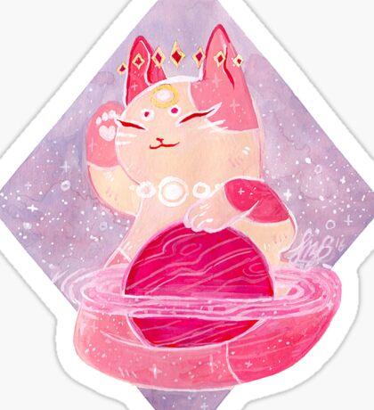 Celestial Cat 1 Sticker
