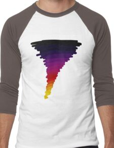 Technicolor Whirlwind Men's Baseball ¾ T-Shirt