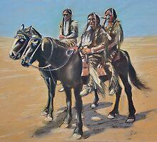 Kiowa Braves by itchingink