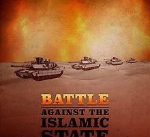 Battle Against The Islamic State by morningdance