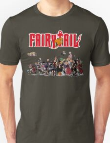 Fairy Tail Characters Unisex T-Shirt