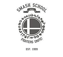 Smash School United (Grey) Photographic Print