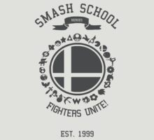 Smash School United (Grey) by Nguyen013