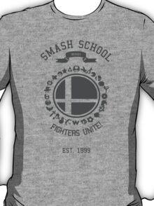 Smash School United (Grey) T-Shirt