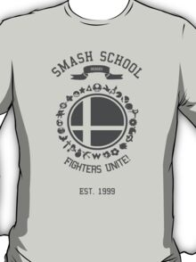 Smash School United (Grey) T-Shirt
