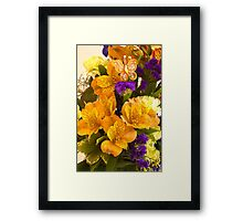 Flowers From Hannah Framed Print