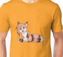 Cute Smiling Fox Unisex T-Shirt