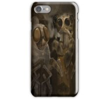 Mr and Mrs Thompson iPhone Case/Skin