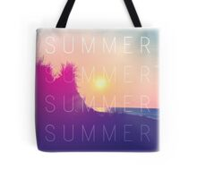 Retro Summer Tote Bag