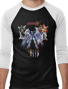 Gundam Wing  Men's Baseball ¾ T-Shirt