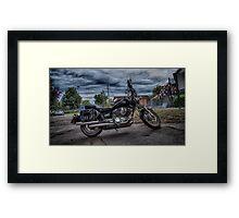 Yamaha Motorbike  Framed Print