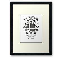 Smash School Veteran Class (Grey) Framed Print
