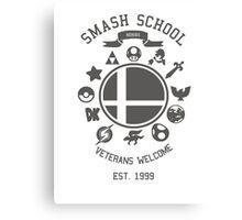 Smash School Veteran Class (Grey) Canvas Print