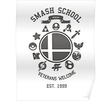 Smash School Veteran Class (Grey) Poster
