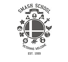 Smash School Veteran Class (Grey) Photographic Print