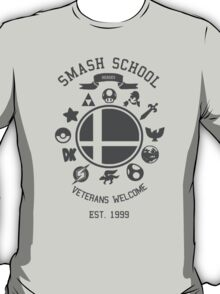 Smash School Veteran Class (Grey) T-Shirt