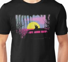 Scenic colored hike into the wild Unisex T-Shirt