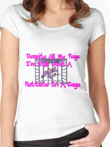 Rattata In a Cage Women's Fitted Scoop T-Shirt