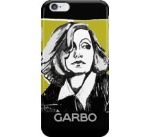 Greta Garbo 1920s Portrait  iPhone Case/Skin
