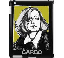 Greta Garbo 1920s Portrait  iPad Case/Skin