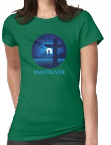 Vancouver Womens Fitted T-Shirt