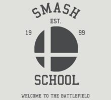 Smash School (Grey) by Nguyen013