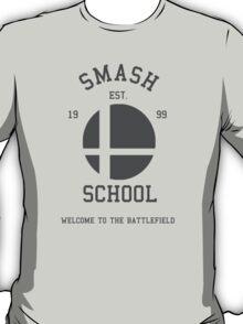 Smash School (Grey) T-Shirt