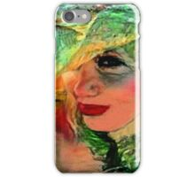 Picassocalia - Holidaymaker With Hat. L B iPhone Case/Skin