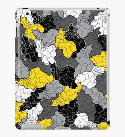 Iran maps iPad Case/Skin