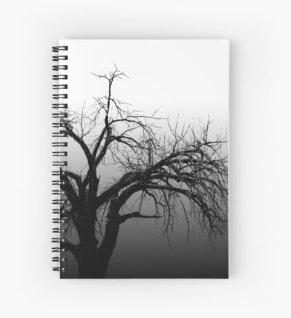 The Lonely Tree Spiral Notebook