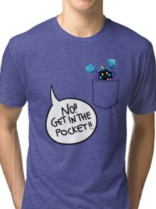 Get in the pocket!! (vr. 2) Tri-blend T-Shirt
