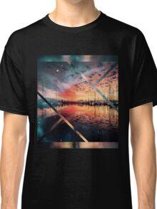 Boat evening  Classic T-Shirt