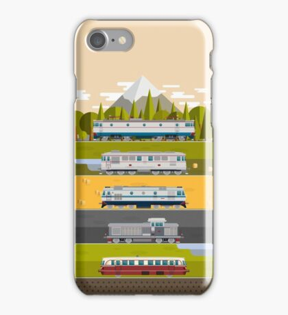 Eastern European Trains iPhone Case/Skin