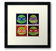 Turtle Bunch Framed Print
