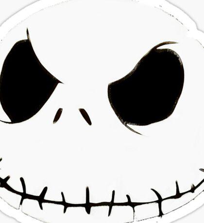 The Pumpkin King's Closeup Sticker