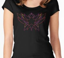 star guardian logo Jinx Women's Fitted Scoop T-Shirt