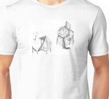 Bunny rabbit house Unisex T-Shirt